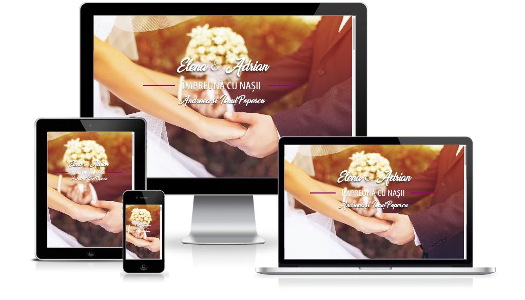 invitatii digitale nunta