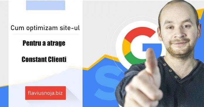 cum sa optimizam site-ul on page
